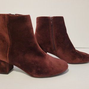 Call It Spring Suede Heel Ankle Boots Women US 7